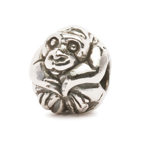 Trollbeads Silver Charm Chinese Monkey 11461