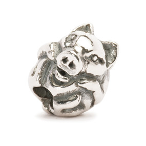 Trollbeads Silver Charm Chinese Pig 11464