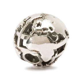 Trollbeads Silver Charm Big World