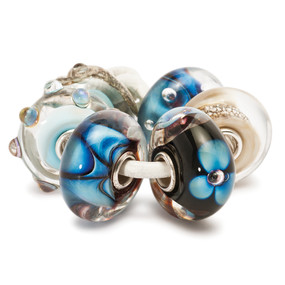 Trollbeads Glass Beads Indigo Kit