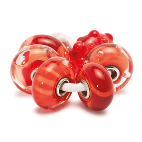 Trollbeads Glass Beads Coral Kit