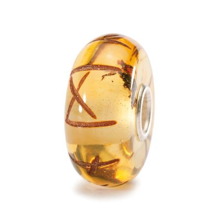 Trollbeads Runes Amber Bead Denmark World Tour Collection