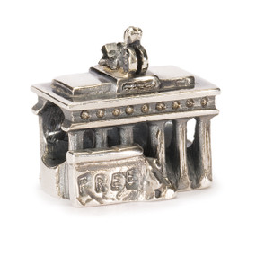 Trollbeads Brandenburg Gate Silver Charm World Tour Germany