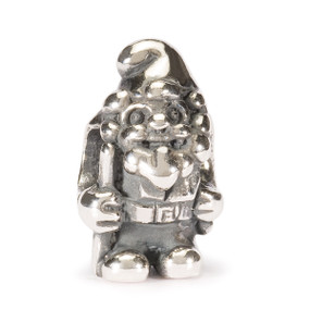 Trollbeads Silver Charm Garden Gnome World Tour Germany