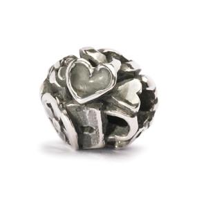Trollbeads Silver Charm Love Spoons, World Tour United Kingdom, TrollbeadsAkron.com