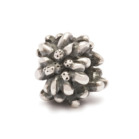 Trollbeads Silver Charm Edelweiss, Trollbeads World Tour Switzerland