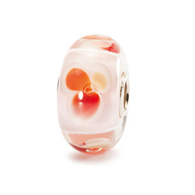 Trollbeads Glass Bead Pink Fantasy