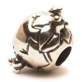 Trollbeads Silver Charm Frogs