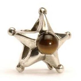 Trollbeads Silver Charms Retired Zodiac Gemini