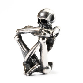 Trollbeads Silver Charms Skeleton Spirit