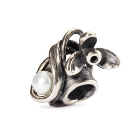 Trollbeads Silver Charms Snowdrop of January