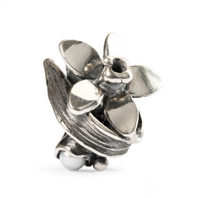 Trollbeads Silver Charms Narcissus of December