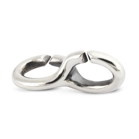 X Jewelry, Double Silver Link