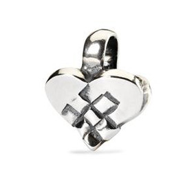 Trollbeads 2013 Holiday Collection Christmas Heart