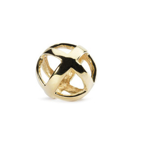 Trollbeads 2013 Holiday Collection Stay Positive Gold