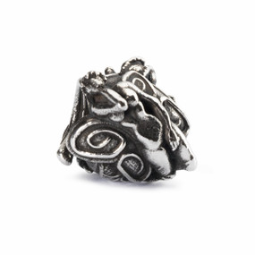 Trollbeads Babylonian Nymph Silver Charm, Trollbeads Spring 2014 Collection, Front View