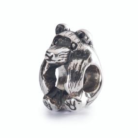 Trollbeads Little Bear, Fall 2014, Silver Charm, TrollbeadsAkron.com
