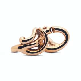 Trollbeads X, Flow Bronze, Fall 2014 Collection, Side View