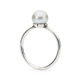 Trollbeads Grey Pearl Ring, Spring 2015 Collection, TrollbeadsAkron.com