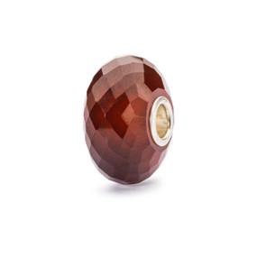 Trollbeads Hessonite Garnet Bead