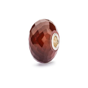 Trollbeads Hessonite Garnet Bead