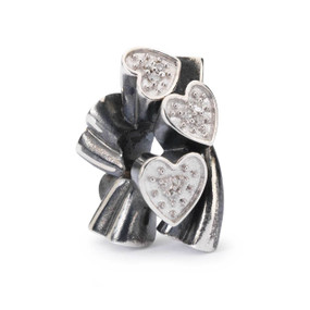 Trollbeads Blooming Hearts Bead