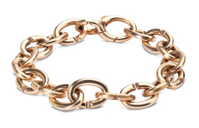 X Jewelry Classic Single Bronze Bracelet