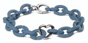 X Jewelry Silver Blue Bracelet