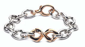 X Jewelry Bronze DNA Bracelet