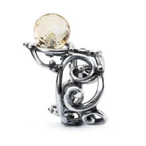 Trollbeads Citrine Facet Ring, Side View