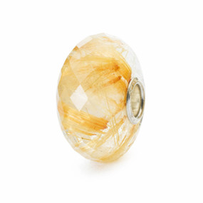 Trollbeads Day Golden Rutilated Quartz