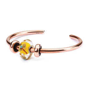Trollbeads Summer Flowers Copper Bangle