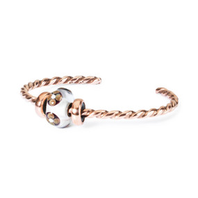 Trollbeads Summer Decoration Twisted Copper Bangle