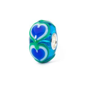 Trollbeads Blue Heart