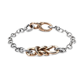 X Jewellery Lovers Bond Chain Bracelet