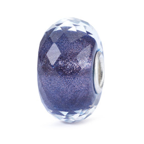 Trollbeads Black Friday Bead, Shimmer Royal