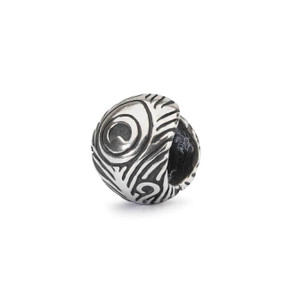 Trollbeads Peacock Feather