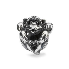 Trollbeads Love, Silver Charm