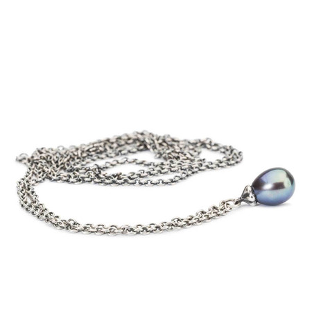 Trollbeads Fantasy Necklace With Peacock Pearl