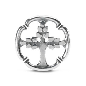 X Jewellery Tree of Life, Double Silver Link