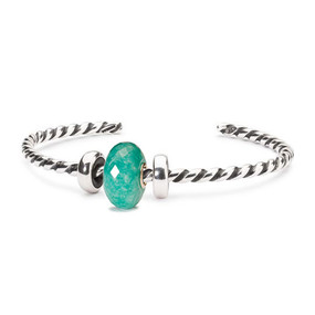 Trollbeads Minty Macaroon Twisted Bangle
