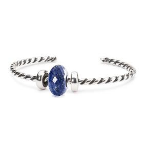 Trollbeads Lapis Lazuli Twisted Bangle