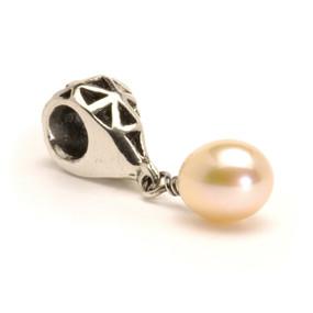 Trollbeads Pink Pearl Drop