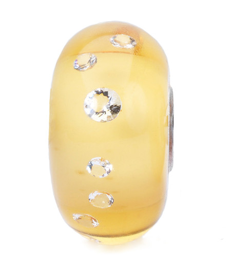 Trollbeads, Diamond Bead Amber