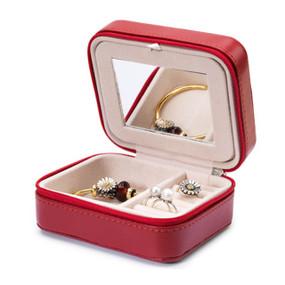 Trollbeads Burgundy Jewelry Box