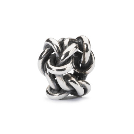Trollbeads Friendship Knot, Silver Charm