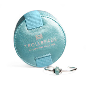 Trollbeads Minty Macaroon Bangle With Case