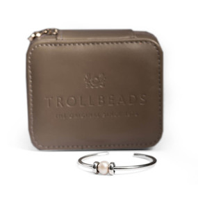 Trollbeads Pearl Bangle With Free Case