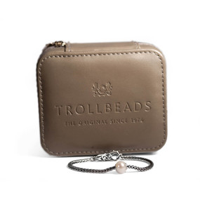 Trollbeads Pearl Bracelet With Case