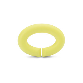 Rubber X Jewellery, Light Lemon